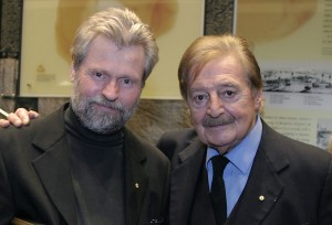 Ross Edwards and Peter Sculthorpe 2005